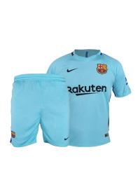پیراهن و شورت ورزشی مدل تیم بارسلونا